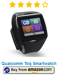 Qualcomm Toq Smartwatch Android Smartphone black