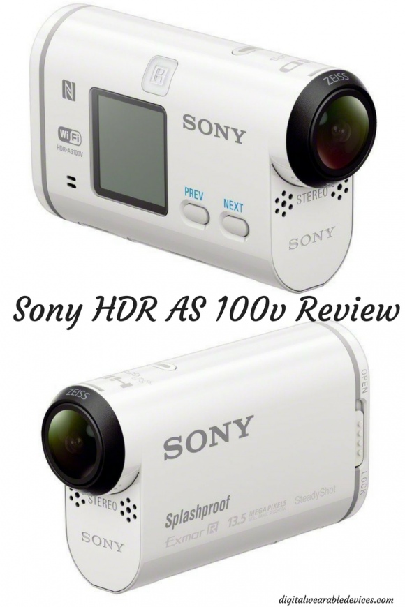 Sony HDR AS 100v Review